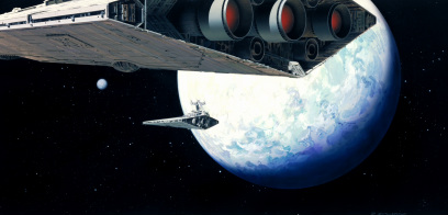 Ralph McQuarrie Concept Art Production Design Star Wars Barry Kooser Worker Studio