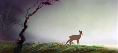 Tyrus Wong Production Art Disney Bambi