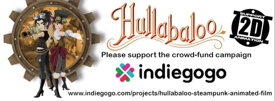 2D Animation Hullabaloo on Indiegogo James Lopez Disney Animator on Steampunk Animated Short