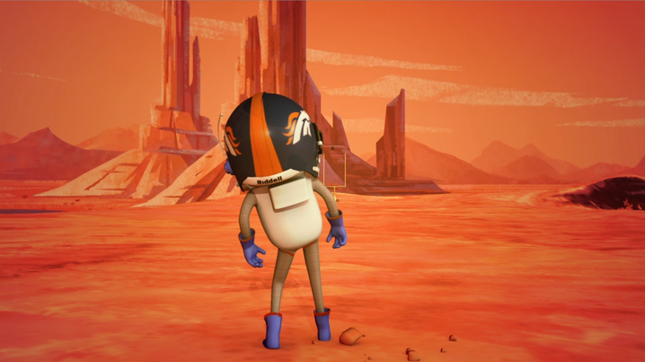 Worker Studio's CosmoNut Kicks a Field Goal on Mars, United In Orange for Broncos Super Bowl 2014
